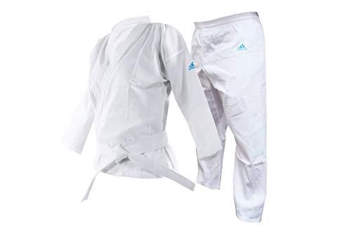adidas K201 adiSTART Karateanzug / Kimono - Farbe: Weiss- GRÖßENAUSWAHL (140 cm)