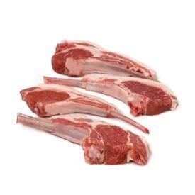 Carré de bœuf - Viande - Agneau - Côte première d'agneau x4 - 400g - Livraison en colis réfrigéré 48h