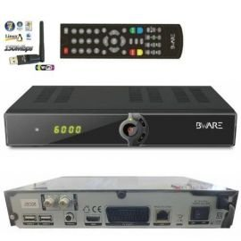 Beware JB008 HD Digitaler DVB-S2 Satelliten Receiver inkl. 150 Mbit Wlan Stick