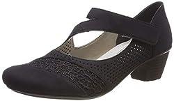 Der France-Lismoretex für Damen von Rieker ist ein klassischer Pump für Alltag und Freizeit.  Durch sein schlichtes Design und dem kleinen Absatz, rundet der Schuh selbst am Abend dein elegantes Outfit ab. Die Antistress Innensohle sorgt stets für ei...