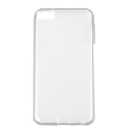 FLAMEER Dünne TPU Schutzhülle Schutzfall mit Öffnungen für Knöpfe für IPod Touch 6. +5.Generation - Klar - klar (Fall 5 Generation Ipod)