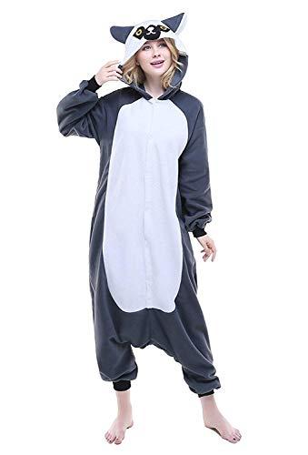 Pijama Animal Unisexo Traje para Mujer Hombre Disfraz para Navidad Entero Unicornio Adulto Pijamas