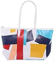 Lacoste Womens Shopping Bag, Multicolour (D78) - NF3178CF