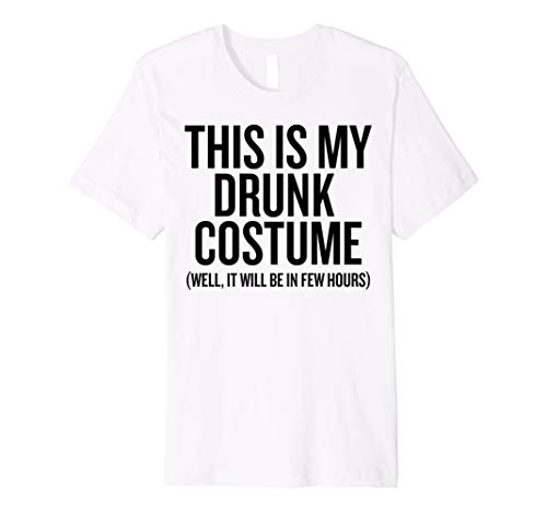This Is My Drunk Kostüm T-Shirt Kinder Herren Frauen Halloween,