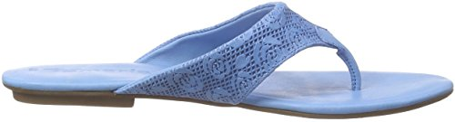 Tamaris - 27114, Sandali infradito Donna Blu (Blau (AQUA 836))