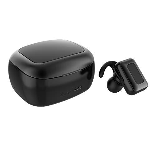 Glowjoy Bluetooth Kopfhörer,Kabellos In Ear Sport Bluetooth 5.0 Wireless Ohrhörer mit Ladebox und Mikrofon,TWS Mini True Stereo Earphone Bass In-Ear Headset für Fitness Workout Jogging
