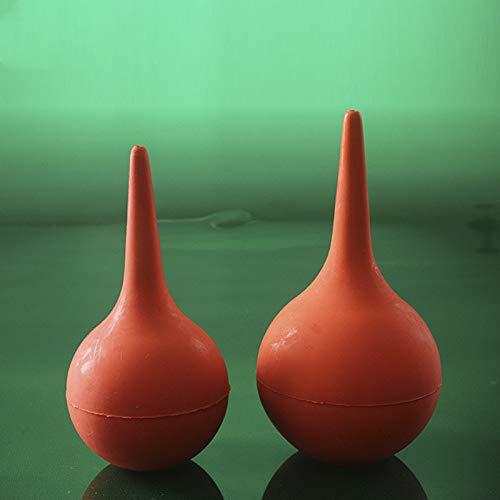 juler 3 pcs Suction Ball Gummi-Sauchbirne Trompete 90ml die Ohrkugel Gas-Blas-Computer zu Staub Haut Tiger,rot,30 ml - Gas-ball