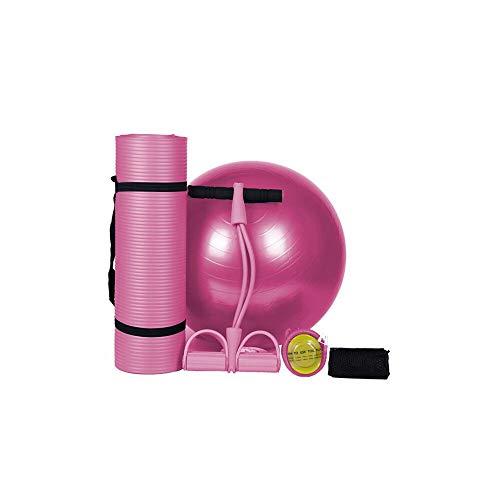 Massage Rolle yoga,yoga pads sets einschließlich luftpumpen, bandagen, mesh taschen, die zündkerzen,Rosa