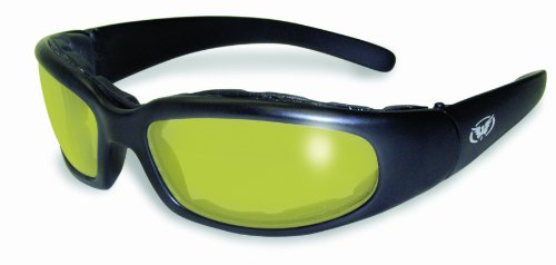 Global Vision Eyewear Men's Chicago 24 Sunglasses with Photochromic Color Changing Lenses, Yellow, Standard