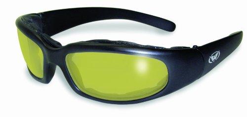 Global Vision Eyewear Sonnenbrille Herren-Chicago 24mit Photochrom Farbe wechselnde Objektive Medium gelb