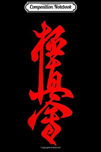 Composition Notebook: Kyokushin Karate Symbol Kyokushinkai Dojo Training  Journal/Notebook Blank Lined Ruled 6x9 100 Pages