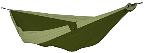 TICKET TO THE MOON Hängematte, Double size - armygrün/ khaki