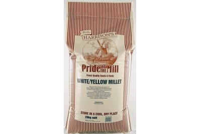 Harrison's Wild Bird Food Seed Pannicum Millet Seed 20kg Pack from Walter Harrisons