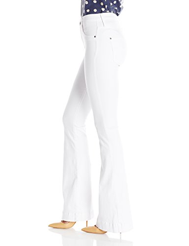 James Jeans Damen Jeans-Schlaghosen Shayebel White (White Clean)