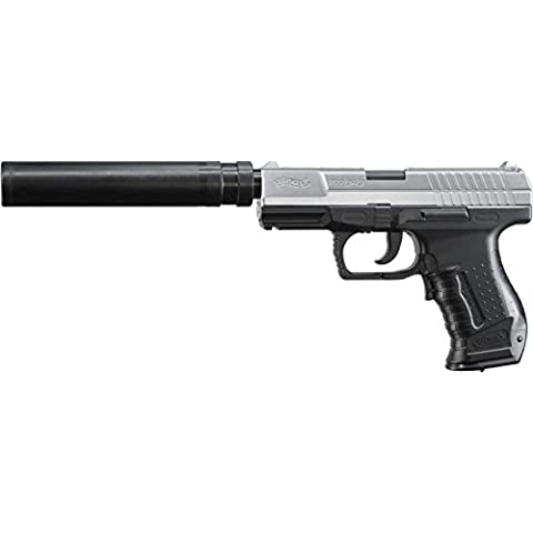 G8DS Walther P99DAO Xtra–Pistola elettrica da softair AEG, 0,5J 6mm BB a molla