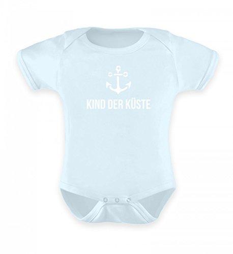 Küste Mädchen (Shirtee Hochwertiges Baby Body - Kind der Küste | Ostsee | Nordsee | Meer | Norddeutsch)