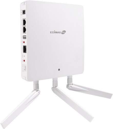 Edimax AC1750 Dual Band Access Point Wall Mounted, PoE, 3 Antennas, WAP1750 (Wall Mounted, PoE, 3 Antennas 802.11 a/b/g/n/ac Concurrent Dual-Band) - Edimax 802.11 N