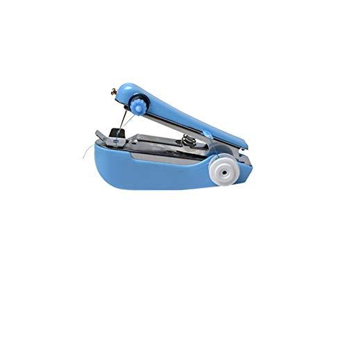 Beito Herramienta multifunción portátil Máquina de Coser Coser Mini Profesional Inalámbrico de Costura eléctrico Handheld del hogar Herramienta de la Puntada rápida Compatible para la Tela de la Ropa