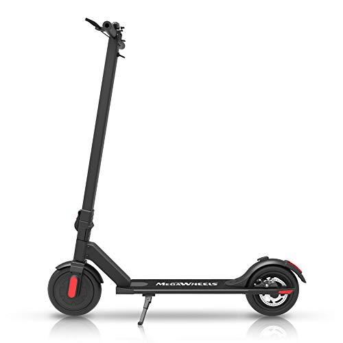 M MEGAWHEELS Elektro Scooter Klappbar City-Roller, E Scooter, 2km 5.8A 36V Tret-Roller für Erwachsene S5 Schwarz