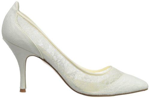 Freya Rose Rita, Escarpins femme Blanc cassé - ivoire