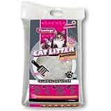 FLAMINGO Katzenstreu PET PLUS Babypuderduft 60 kg