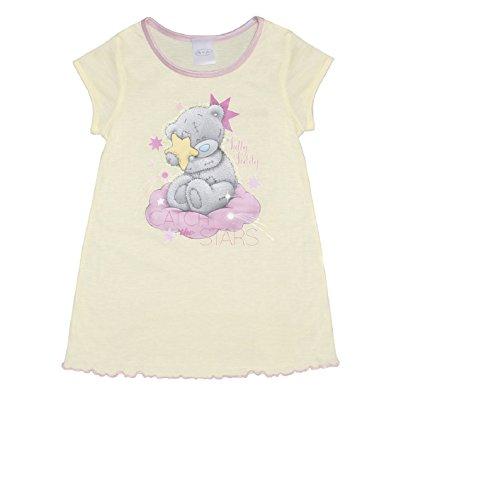Girls Nightie Pyjamas Me To You Tatty Teddy Yellow 2-8 Years