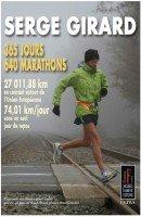 SERGE GIRARD - 365 jours, 640 marathons