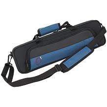 Ortola 8420 FSH - Estuche flauta travesera, color negro y azul