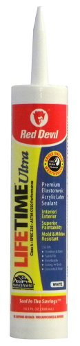 red-devil-0770-lifetime-ultra-premium-elastomeric-acrylic-latex-sealant-white-101-ounce-by-red-devil