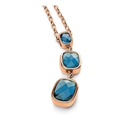 ladies-folli-follie-plated-rose-gold-necklace-the-elements-collection-3n9t172ru