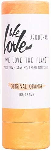 We Love The Planet Original Orange Natural Deo Stick