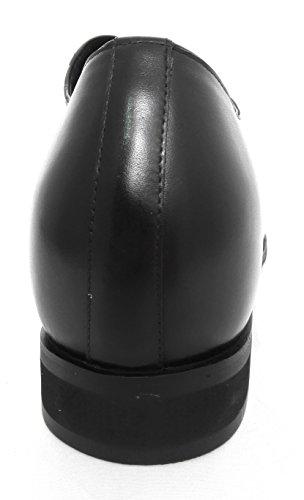 ZERIMAR Scarpe con aumentato interno di 8 cm ¡ATTENZIONE OFFERTA SPECIALE 7,5 ANNIVERSARIO! Realizzata in pelle di alta qualità 100% pelle Colore Nero Nero