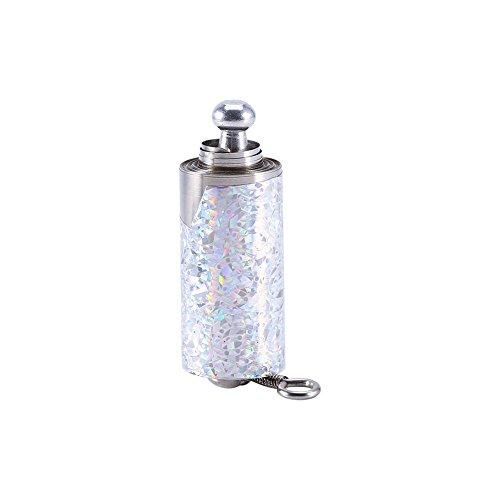 Le trucchi magiche d'argento metallo professionale della canna si chiudono su seta di illusione alla bacchetta