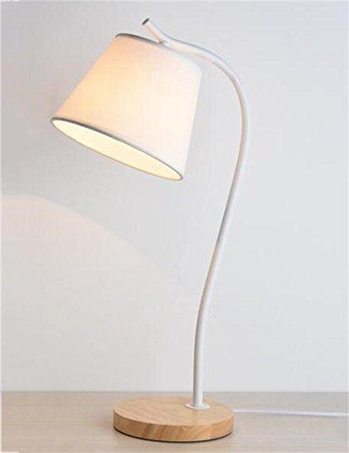 QiangDa Amerikanisches Eisen Kreativ Modern Minimalistisch Tischleuchte Bett Schlafzimmer Studie Tischleuchte Neue Lampe ( Farbe : B ) (Eisen-bett-satz)