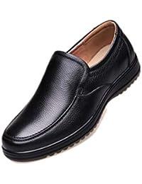 c425980b3bb2 LZMEG Schuhe Lederschuhe Für Herren Lässige Lederschuhe Business-Schuhe  Arbeit Netto