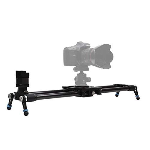 LLC-Camera Kamera motorisierte Slider Carbon Fiber Track Schiebesystem mit Time Lapse und Video Shot Follow Focus Shot, mit Pan & Tilt Motors und Controller,120cm/47.2inch