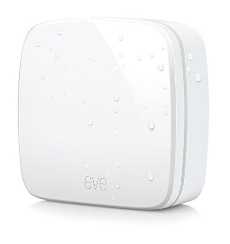 Elgato Eve Weather   Sensor inalámbrico de exterior con la tecnología Apple HomeKit  Bluetooth Low Energy  color blanco
