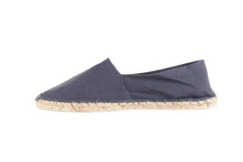 Bild von Sommerlatschen Espadrilles, vollgummiert, dunkelgrau, Unisex, SL1215