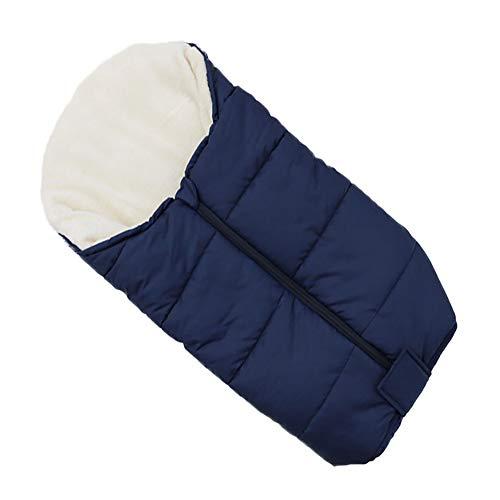 LIGHTOP Kinderwagen Fußsack Winter Winddicht Wärme Schlafsack Baby Trolley Baumwolle Kissen Sitzauflage Angenehm Warmes Toe Cover