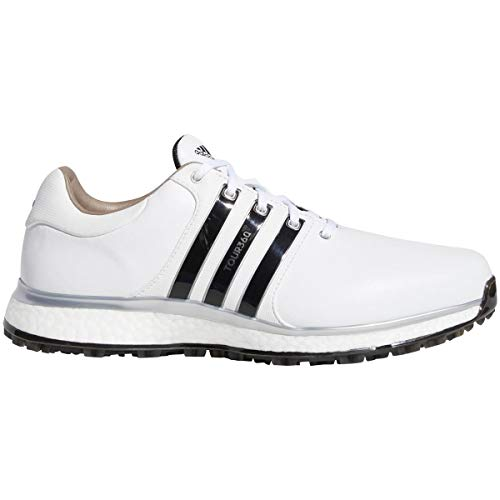 adidas Tour360 Xt-SL(Wide), Scarpe da Golf Uomo, Bianco (Blanco/Negro F34990), 42 EU