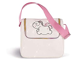 NICI Theodor & Friends 1/2019 Theofina Mochila, Color Blanco/Rosa (43263)
