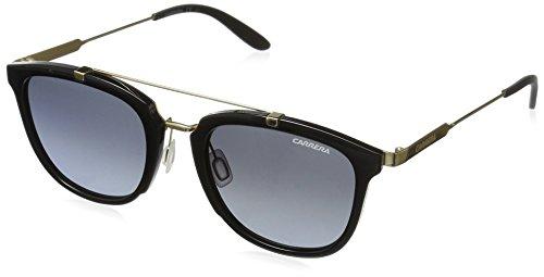 carrera-mens-ca127s-square-sunglasses-shiny-black-gold-gray-gradient-51-mm