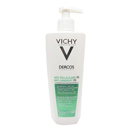 Vichy Dercos Anti-Dandruff Advanced Action Shampoo Normal to Oily Hair 390ml