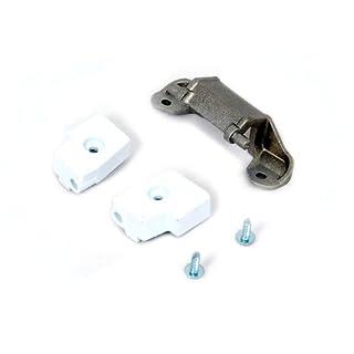 Genuine WHITE KNIGHT Tumble Dryer DOOR HINGE KIT 421309225361
