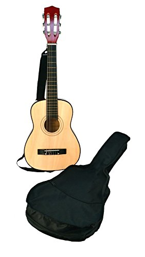 bontempi-wooden-guitar-with-shoulder-strap-and-bag-75-cm