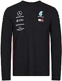 3a878a851c9 Mercedes AMG Petronas Motorsport 2019 F1™ Mens Long Sleeve Driver T-Shirt  Black