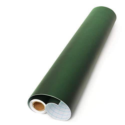 Office Tree Lámina de pizarra® Verde 300cm Rollo–Autoadhesivo–43cm de ancho–Pizarra adhesiva–Escritura dibujar pintar Akzente setzen con tiza–Decoración DIY Decoración presentación–(1Rollo)