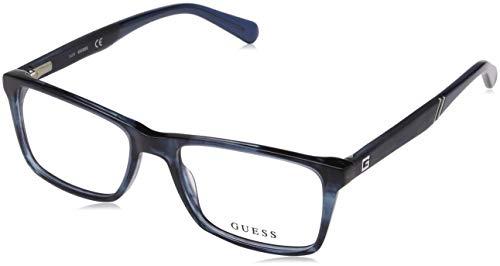 Guess Unisex-Erwachsene GU1954 092 53 Brillengestelle, Blau (Blu) (Herren Guess Brillengestelle)
