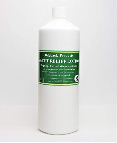 Biteback Products 'Sweet Relief' ™ Barrier Lotion für juckende Pferde REFILL 1000ml
