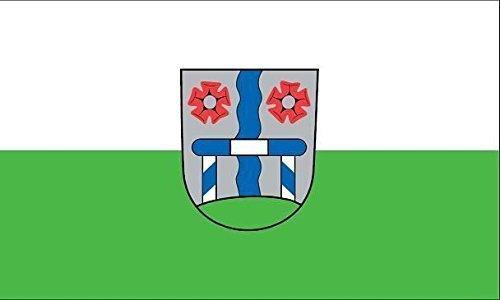 UB Aufkleber Gröbenzell 15 cm x 10 cm Flagge / Fahne (Autoaufkleber)